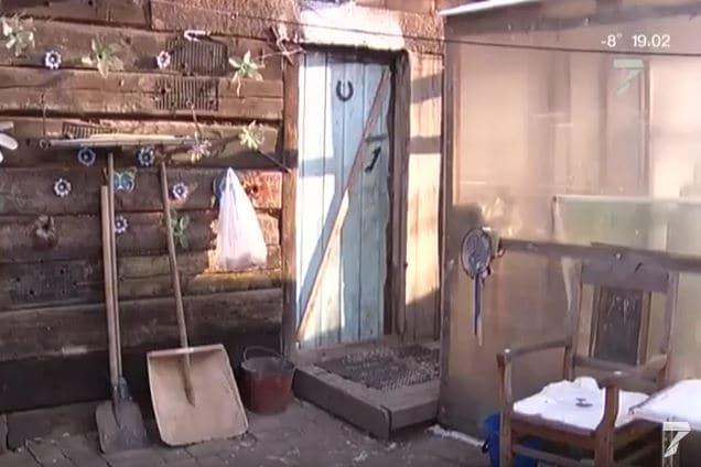В Березовке сгорело общежитие