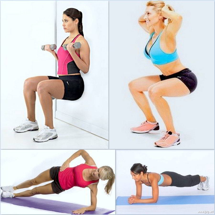 Как Сбросить Вес Упражнение Видео. Фитнес-тренировка дома: видео-упражнения для похудения начинающих