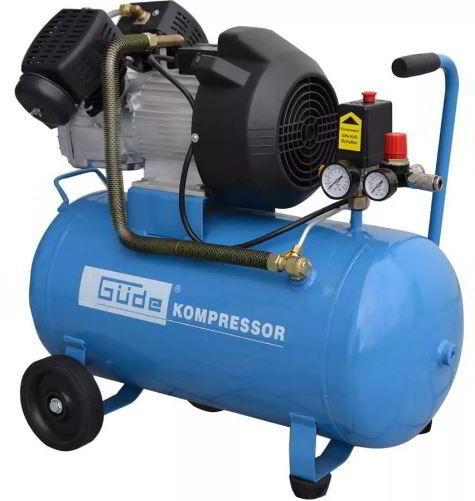 Как работает воздушный компрессор