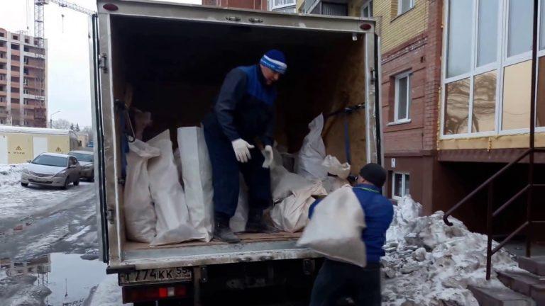 Вывоз строительного мусора с компанией «Перевозкин»