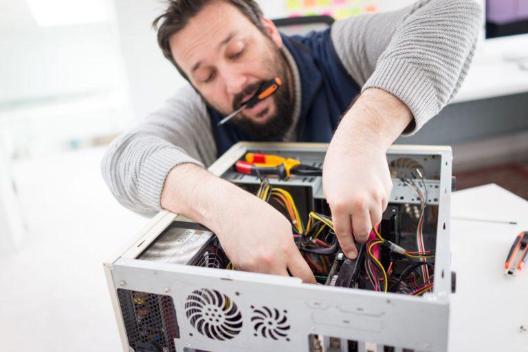 Особенности ремонта компьютеров на дому